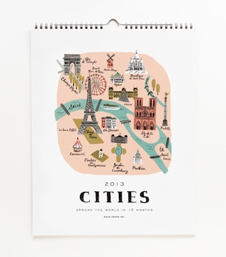 Rifle paper co cities calendar