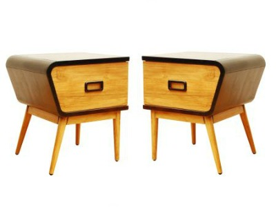 Artisanti Are Playing Around With 50s Looks With Their New Wireless Range  Which Includes These Retro Side Tables.
