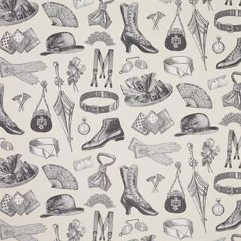 Mr And Mrs Collins Wallpaper By Sandbergs Tyg Tapet