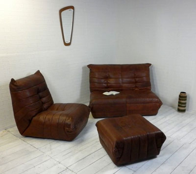 Sofa Ligne Roset Ebay : ... Ligne Roset leather Togo sofa, chair and stool on eBay is still worth