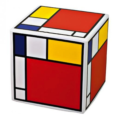 Mondrian cube