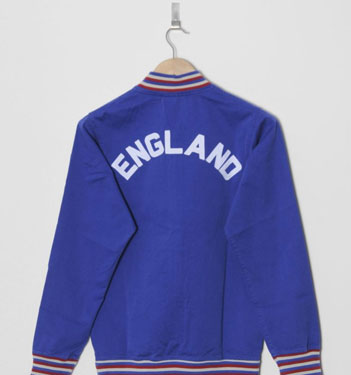 Umbro Anthem Jacket - England's 1966 World Cup track top reissued