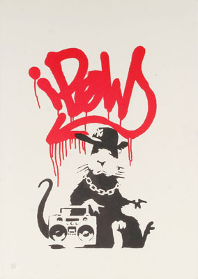 Banksy-gangstar-rat