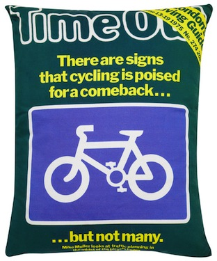 Time out cycling cushion