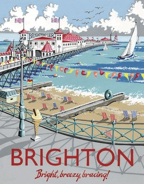 Kelly Hall Brighton Pier