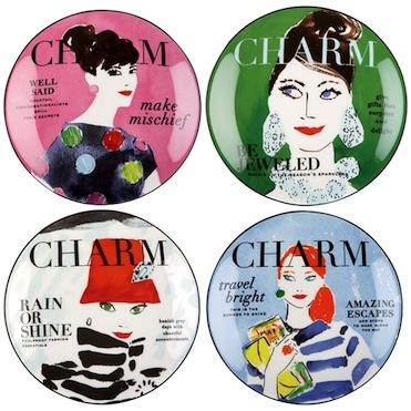 Charm plates