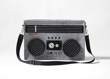Classic boombox bag