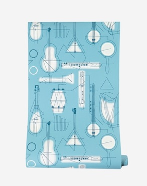 Concert wallpaper mini moderns