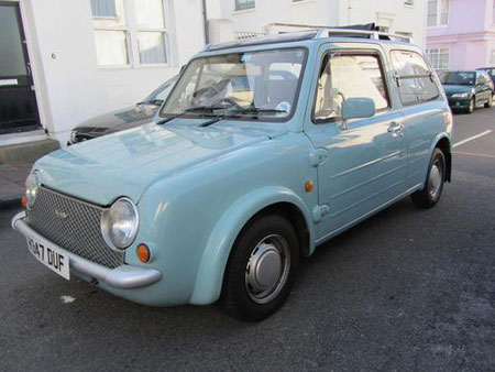eBay watch: Retro-style Nissan Pao 1.0 automatic car - Retro to Go
