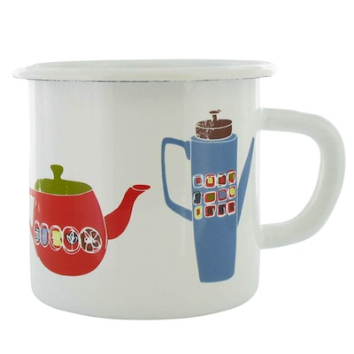 Paperchase coffee pot