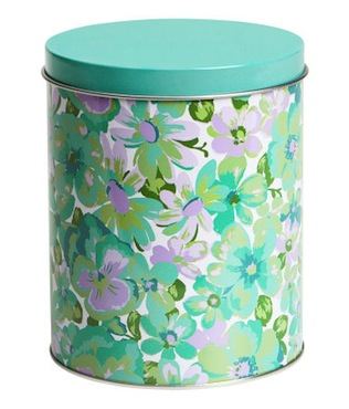 H&M patterned tin