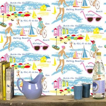 Beach wallpaper Michell Mason