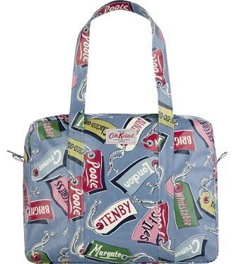 Cath kidston luggage tags bag