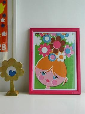 Flower Head by Alice Apple