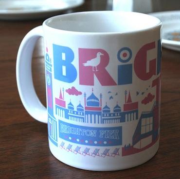 Brighton mug