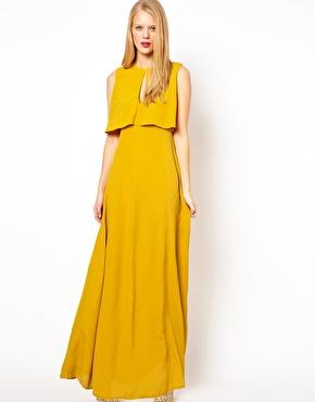 Maxi dress 70s fashion