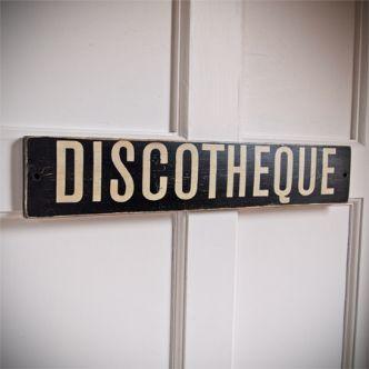 Discotheque-sign