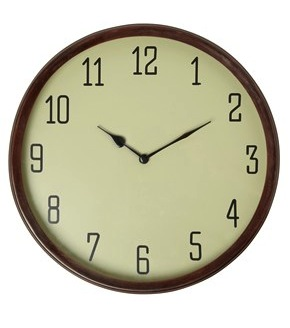 Gallery wall clock