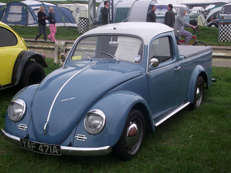 Ever Seen A Beetle Like This 1960s Volkswagen Pickup We Certainly Haven T Which Is Why Are Flagging It Up