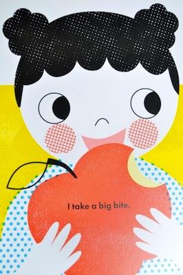 I take a big bite
