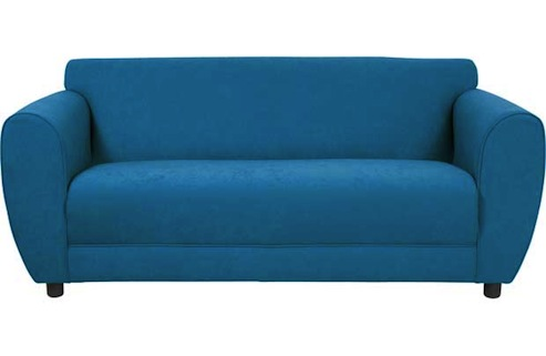 Nancy teal sofa homebase