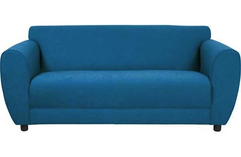 Nancy teal sofa homebase