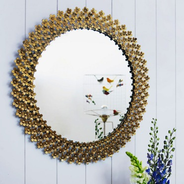 Thousand daisies mirror