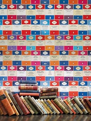 Penguin_library_wallpaper