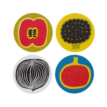 Marimekko kompotti coasters