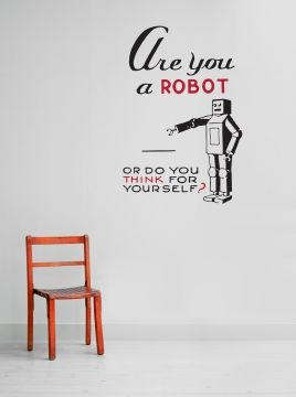 Are You a Robot sticker