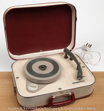 Ebay Record Player >> Ebay Watch 1950s Fidelity Suitcase Record Player Retro To Go