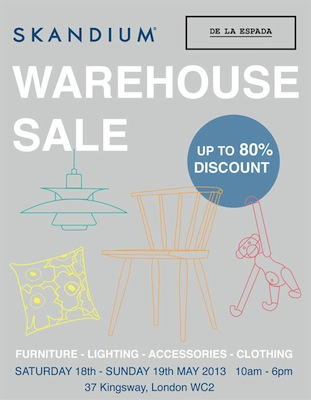 Skandium Warehouse Sale