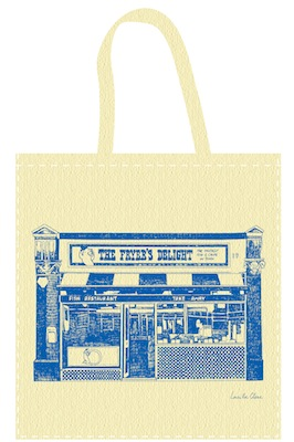 Fryer's Delight tote