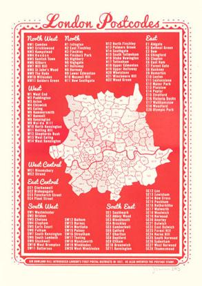 London Postcodes