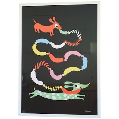 Hot Dog print Lundsten