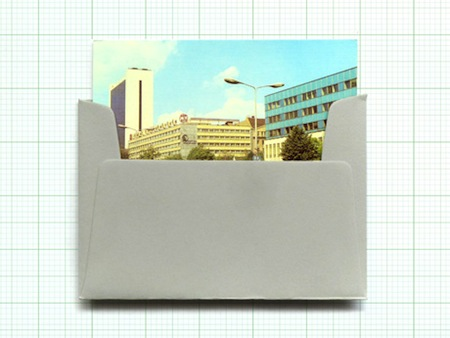 Vintage Modernist postcards
