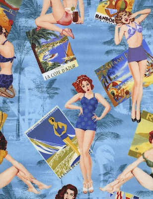 Pin Up Fabric