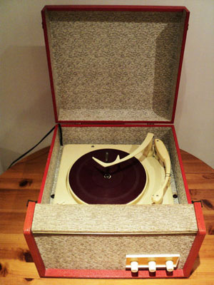 Ebay Watch 1950s Ekco Portable Record Player Retro To Go