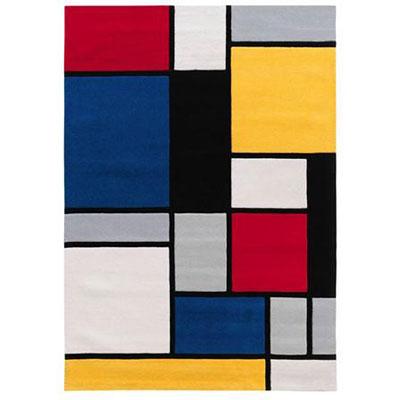 Mondrian style arte espina cubes rugs at achica retro to go - Tapis style mondrian ...