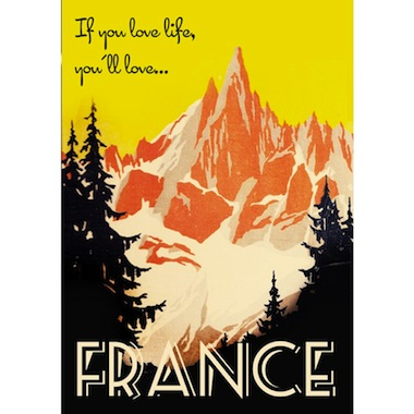 Love France Double Merrick