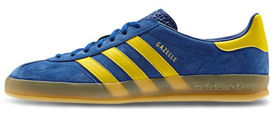 Adidas Gazelle Indoor Royal Blue And Yellow