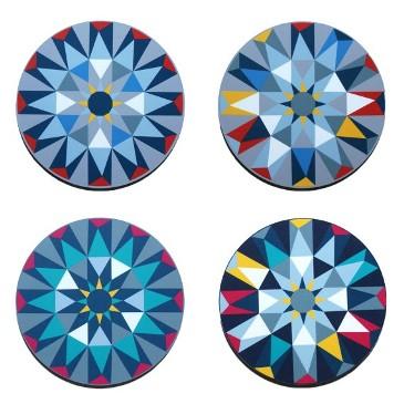 Kaleidoscope-tablemat-set