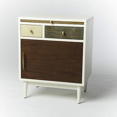 West Elm patchwork nightstand