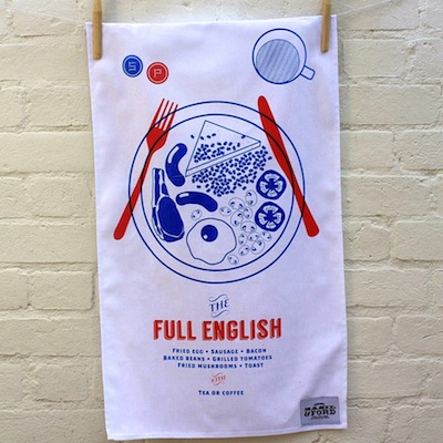 Full English Tea Towel
