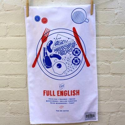 Full English Tea Towel
