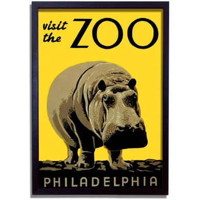 Visit-the-zoo-1930-s-framed-print