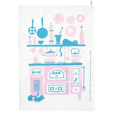 PolkkajamHella tea towel
