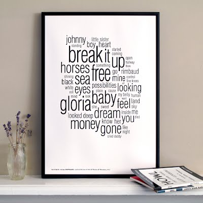 Patti-Smith-Horses-Distilled-Limited-Edition-Letterpress-Art-Print-1