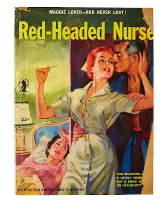 Red-Headed Nurse notebook