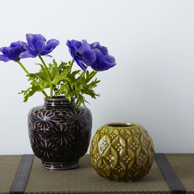 Retro ceramic vase rigby & mac
